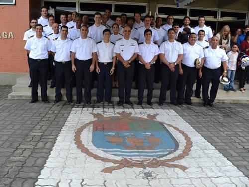 CIAGA forma alunos do curso de Aperfeiçoamento para Oficial de Máquina