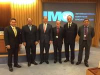 Delegação Brasileira com o Secretário-Geral da IMO, Kimtack Lim