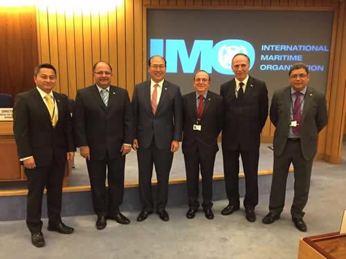 Brasil participa da 116ª sessão do Conselho da IMO