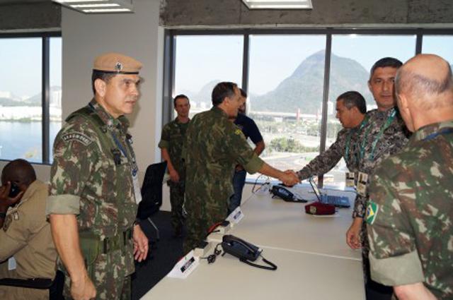 Comando de Defesa Setorial Barra recebe o Chefe do Estado-Maior Conjunto das Forças Armadas