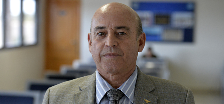Secretário de Pessoal, Ensino, Saúde e Desporto do Ministério da Defesa, brigadeiro Ricardo Machado Vieira