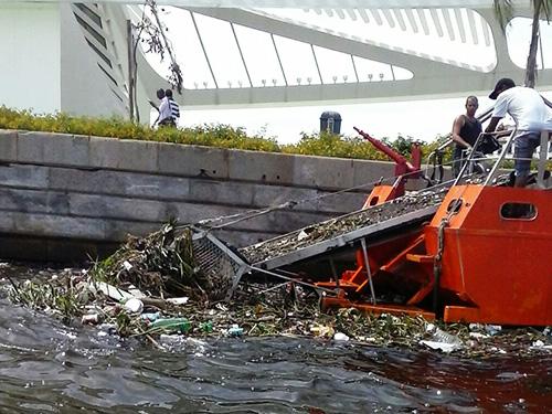Base Naval do Rio de Janeiro presta apoio logístico aos ecobarcos