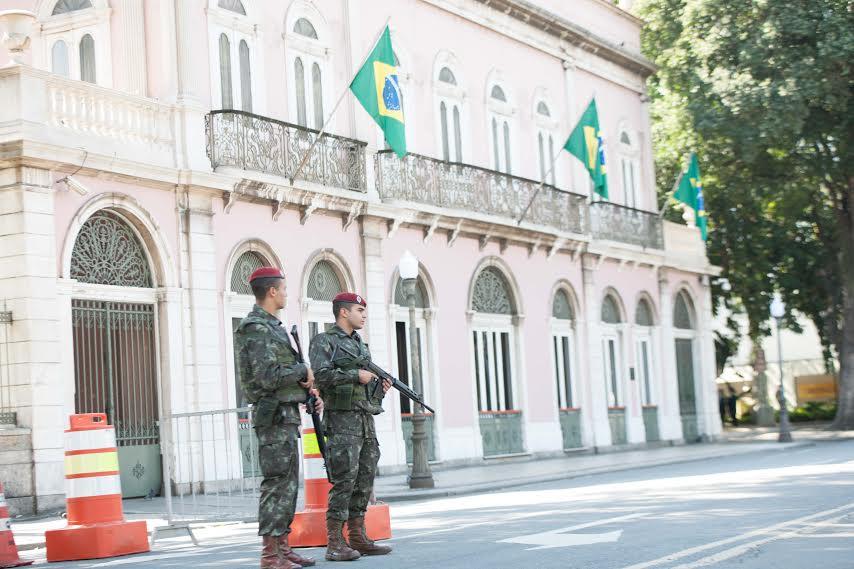 Segurança na cerimônia de abertura da Olímpíada é realizada pelo CDS Maracanã