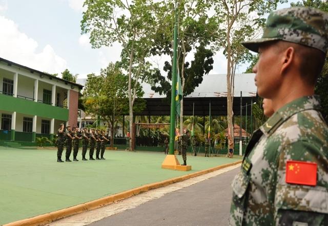 Centro de Instrução de Guerra na Selva começa II Competição Internacional de Patrulhas
