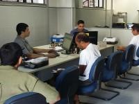 Grupo de Atendimento ao Público da Agência da Capitania dos Portos em Aracati (AgAracati), no Ceará