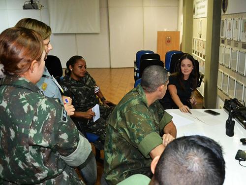 Equipe de negociação do CCDA Manaus realiza adestramento no BtlOpRib