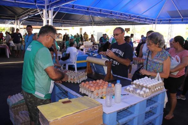 FAB apoia feira de microprodutores da agricultura familiar