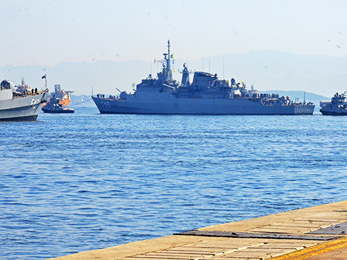 """Fragata """"Liberal"""" será o próximo capitânia da Força-Tarefa Marítima no Líbano"""