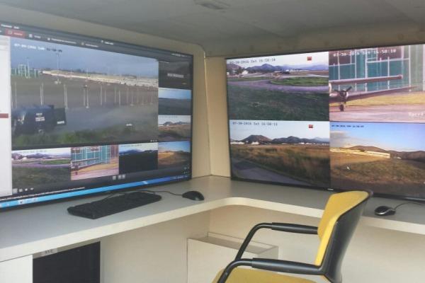 Infantaria da Aeronáutica emprega vigilância eletrônica durante os Jogos Olímpicos