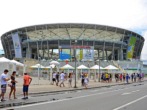 Jogos na Arena Fonte Nova transcorrem em clima de tranquilidade