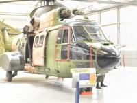 Aeronave H-34 Super Puma (FAB 8733) entregue ao Museu Aeroespacial