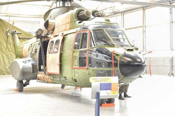 Depois de 30 anos na FAB, H-34 chega ao MUSAL e pode receber visitas do público