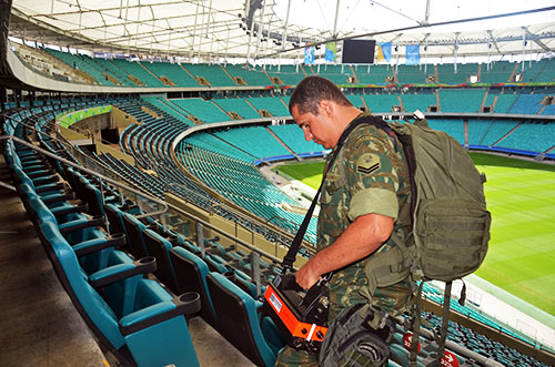 Marinha coordena ações de defesa em estreia do Futebol olímpico em Salvador