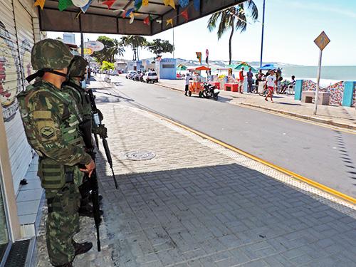 Marinha participa de ações de combate à violência no Rio Grande do Norte