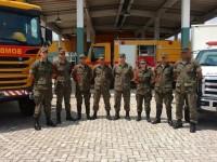 Militares do Campo de Provas 1