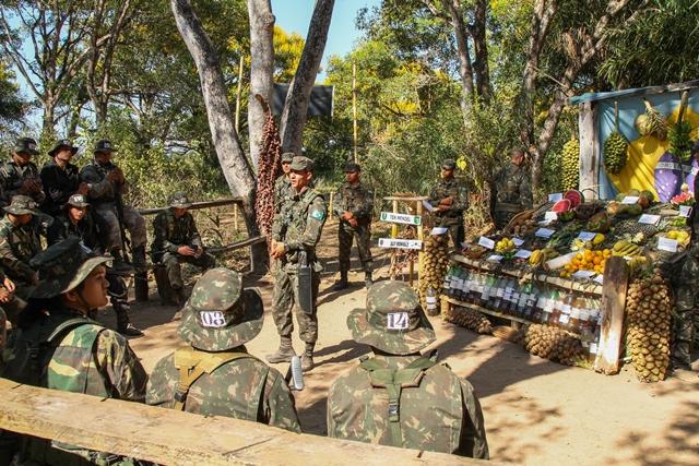 Militares do Mato Grosso participam do Estágio de Adaptação ao Pantanal