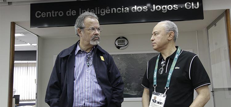 Ministro Raul Jungmann participa de reunião do Cesi, no Centro de Inteligência dos Jogos