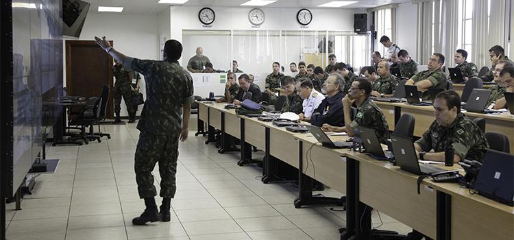 Ministros da Defesa e do GSI participam de reunião sobre segurança no Centro de Inteligência dos Jogos Rio 2016