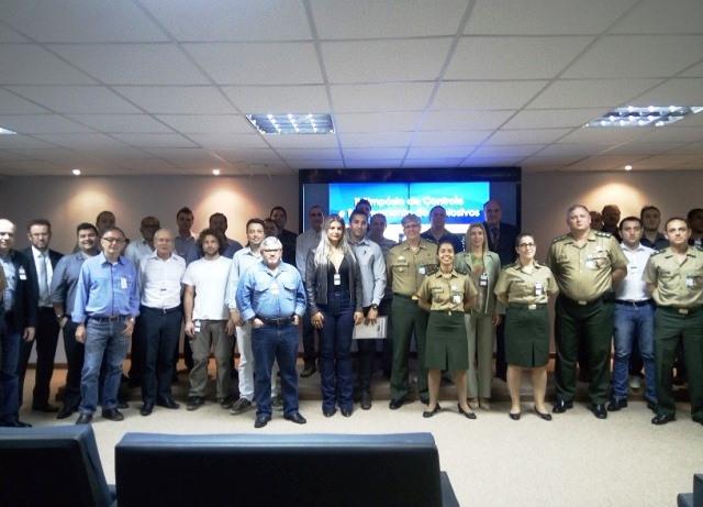 Exército realiza o II Simpósio de Controle e Rastreamento de Explosivos