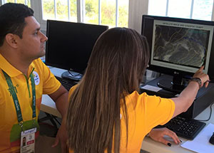 Rio 2016: Marinha monitora as condições climáticas para as competições na Baía de Guanabara