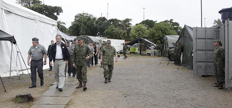 Rio 2016 Ministro Jungmann visita UTO 1