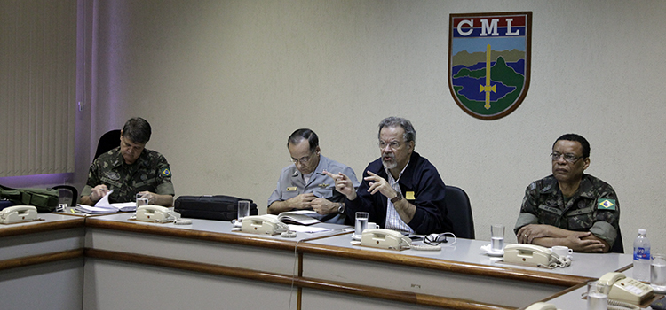 Rio 2016: Ministro Jungmann visita UTO Lagoa e incentiva fuzileiros navais