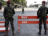 Militares das Forças Armadas ampliam área de atuação no Rio de Janeiro.