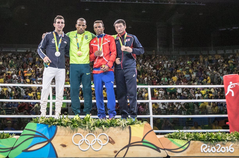 Sargento Robson Conceição ganha ouro inédito no Boxe