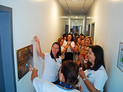 Inauguração da nova sala das VCB na CPCE