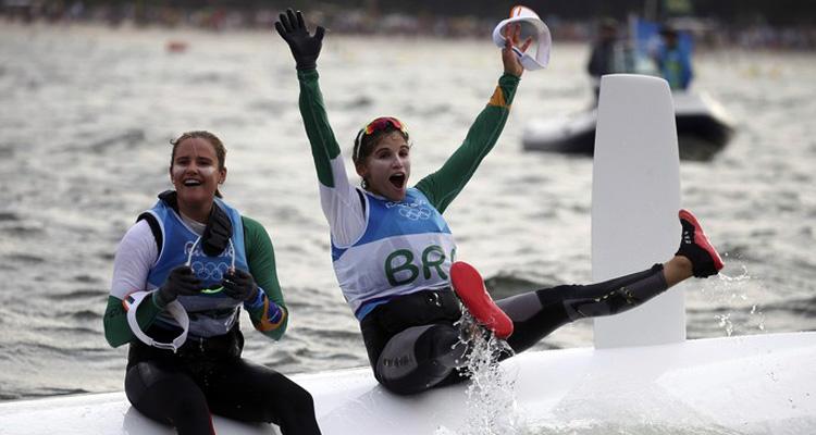 Rio 2016: sargentos da Marinha conquistam ouro na Vela