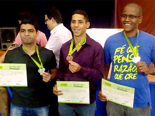 Alunos do CN garantem medalhas na Olimpíada Brasileira de Matemática