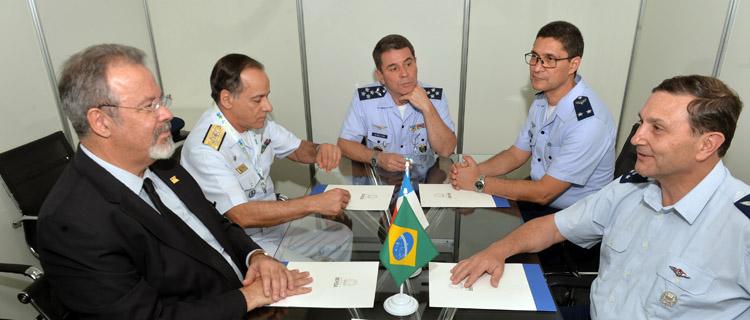 A delegação chilena esteve também na Mostra BID-Brasil