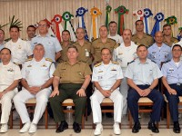Participaram da reunião entre os Estados-Maiores Conjuntos chefes e representantes de diversos órgãos do MD