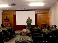 O estágio é direcionado as Praças graduadas para o exercício das funções de instrutoria de recrutas Fuzileiros Navais no CIAMPA e no CIAB