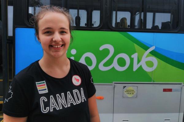 Atleta canadense do vôlei sentado