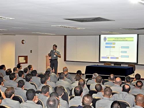 DASM e NAS do Comando em Chefe da Esquadra realizam semana da Assistência Social