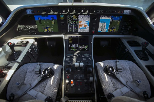 Aeronave possui tecnologia fly-by-wire/ Fbábio Maciel