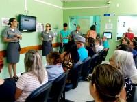 Palestras nas salas de espera do HNNa