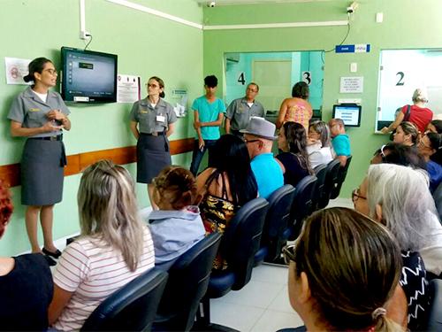 Hospital Naval de Natal promove dia alusivo ao combate à Sepse