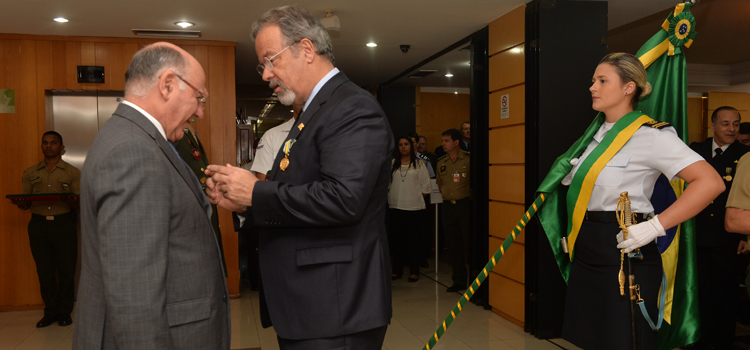 A Medalha Mérito EMCFA foi criada em 6 de novembro de 2015