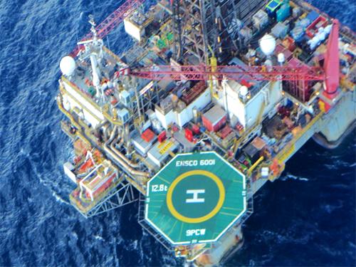Marinha adota pintura de indicativo de localidade na superfície de helideques
