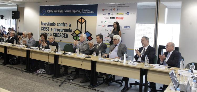 Ministro Jungmann participa de seminário sobre a retomada do crescimento realizado no BNDES