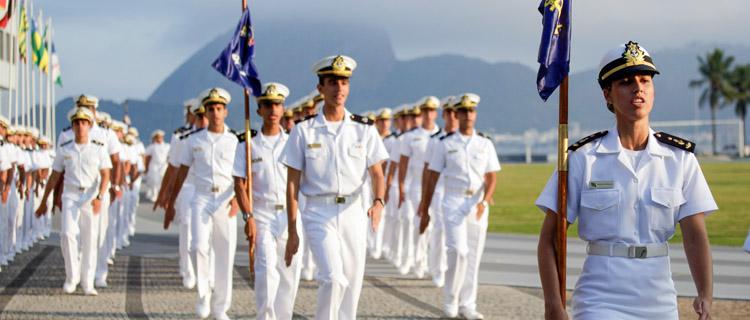 A essência da formação marinheira está na Escola Naval. Foto: Felipe Barra/MD