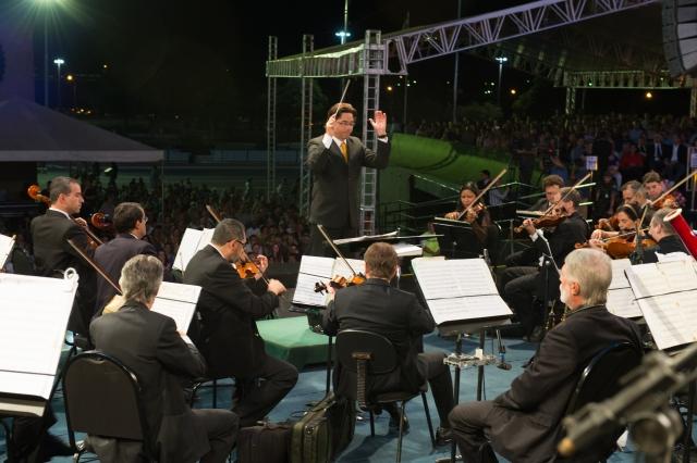 Concha Acústica recebe II Concerto da Independência