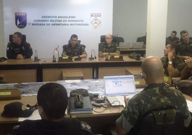 Forças Armadas e órgãos de segurança pública planejam transição das tropas da Operação Potiguar