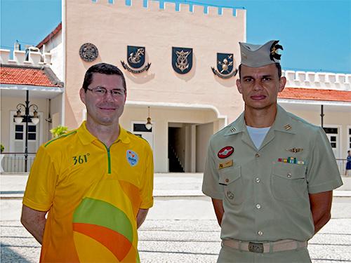Militares encerram participação nas olimpíadas Rio-2016