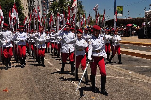 10ª Região Militar organiza desfile de Sete de Setembro em Fortaleza