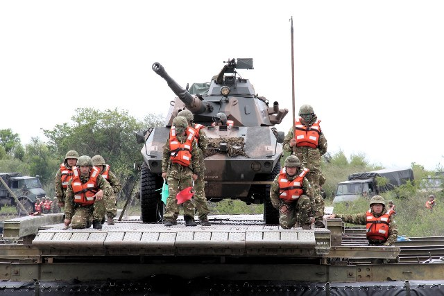 1ª Bda C Mec participa da Operação Guarani na República Argentina