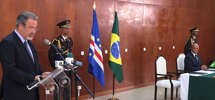 Brasil e Cabo Verde firmam acordo-quadro em cooperação no setor de defesa