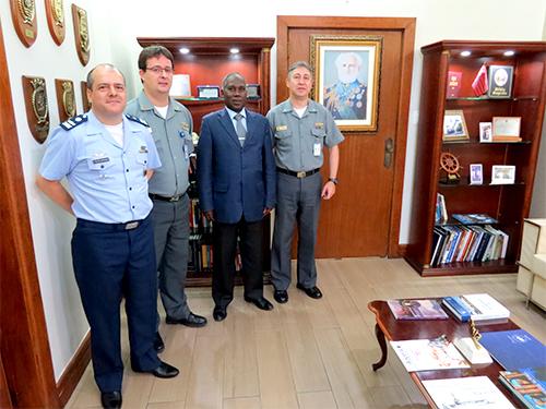 CCCPM recebe representante das Forças Armadas de Moçambique